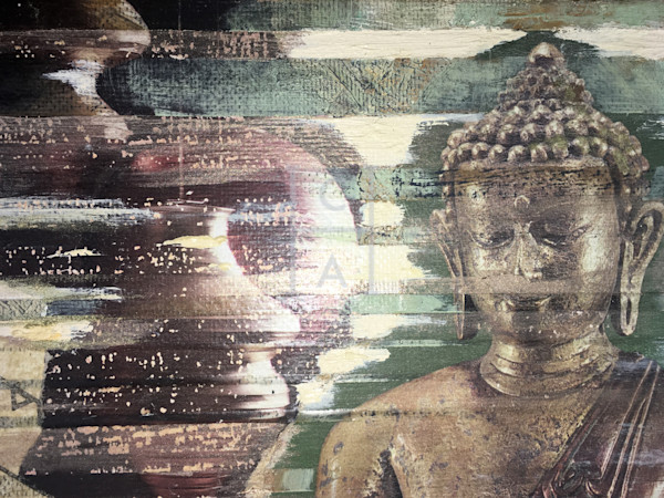 Seated Buddha 2 Close-Up de Camille High Quality Giclee Print Art, Cool Art House