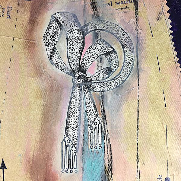 Art Deco Bling Pattern Brooch