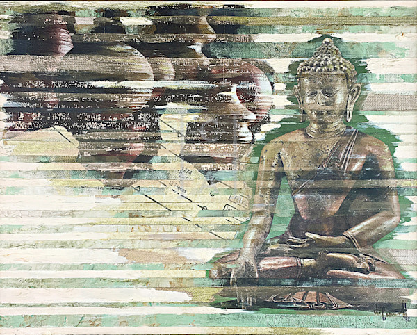 Seated Buddha2P JPG de Camille High Quality Giclee Print Art, Cool Art House