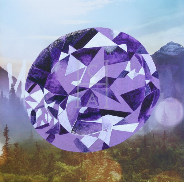 'Logi' Buff-top Oval Amethyst by S.P. High Quality Giclee Print Art, Cool Art House