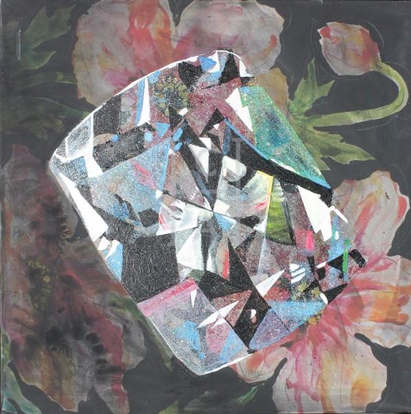 'Sekhmet' Radiant-cut Obsidian (Print)