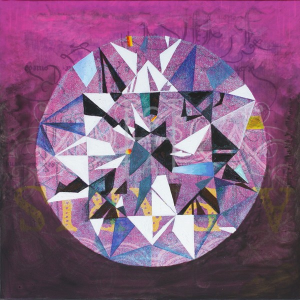'Yal Un Eke' Diamond Art | Cool Art House - online art gallery with hip emerging artists. Collect cool art you can view on your own wall before you invest!