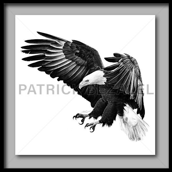Under The Shadow Of His Wings (Fine Art Print With Frame) - Prices in US$