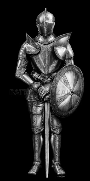 Own Limited Edition Hand-drawn Art | Armor of God | Patrick Bezalel Fine Artist