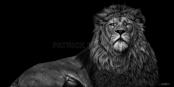 Own Limited Edition Hand-drawn Art | Behold The King | Patrick Bezalel Fine Artist
