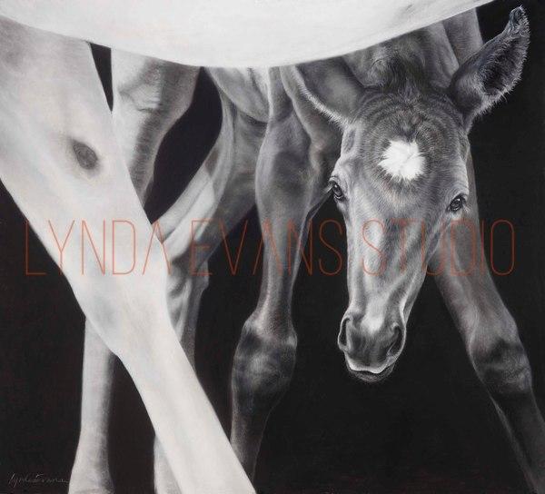 Lean In* Art | Lynda Evans Studio