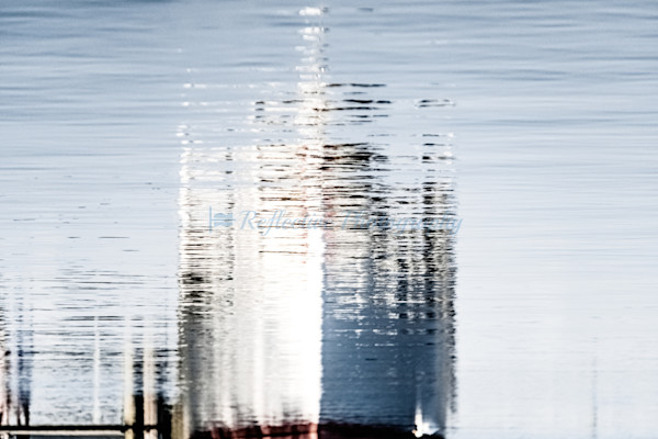 Fine Art Photograph of River Cruise Ship Reflected in Water