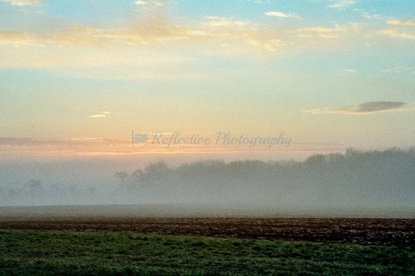 Day's Last Shimmers. Photograph by M F Gladu. Kent County MD