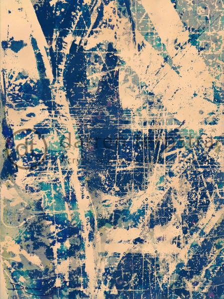 Rhapsody In Blue Art | Darren Terpstra Artist