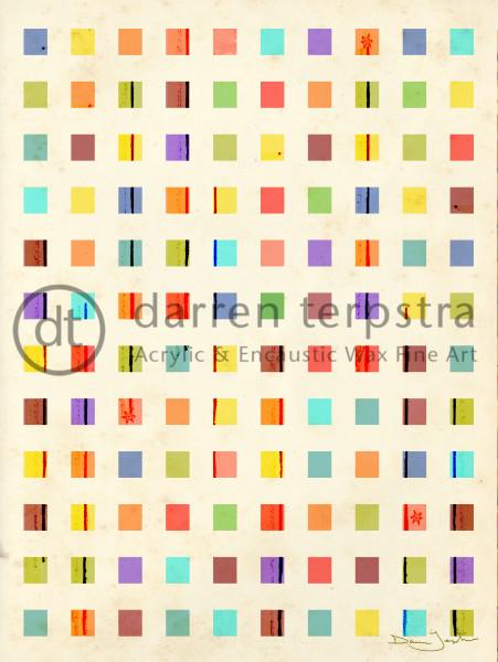 Celestial Squares (Vertical) Art | Darren Terpstra Artist