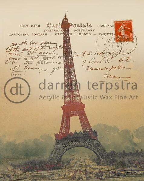 Paris Post Art | Darren Terpstra Artist
