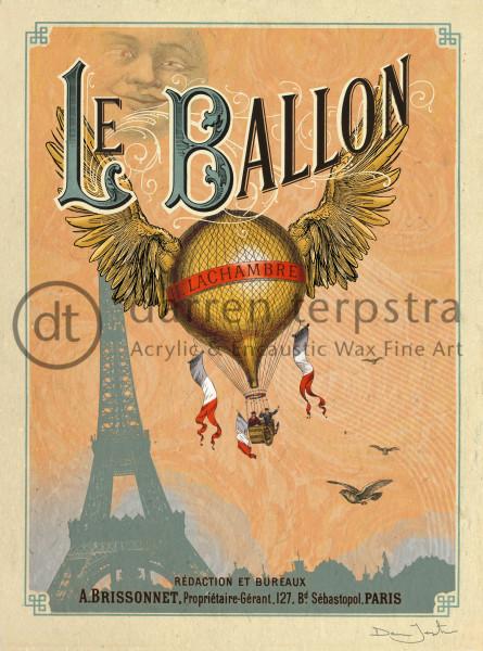 Le Ballon Art | Darren Terpstra Artist