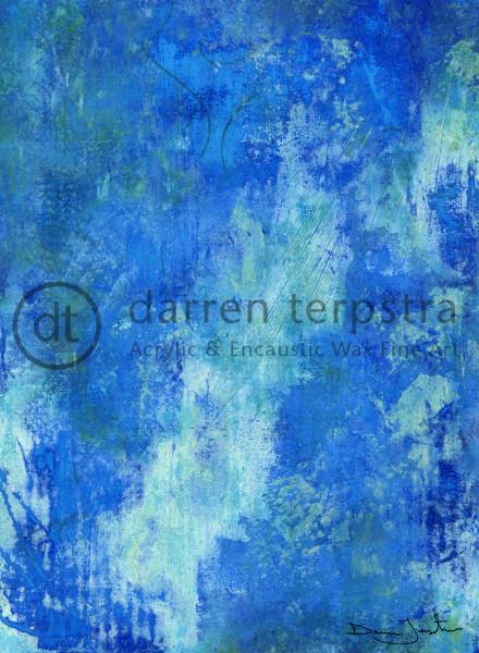 Blue Bamboo Art | Darren Terpstra Artist