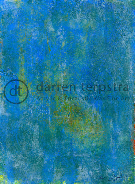 Water On My Window Art | Darren Terpstra Artist
