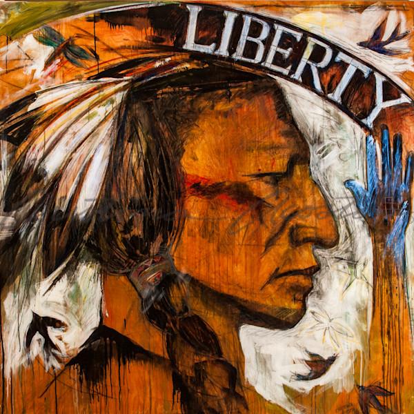 Liberty Series Buffalo Nickel Native American Man