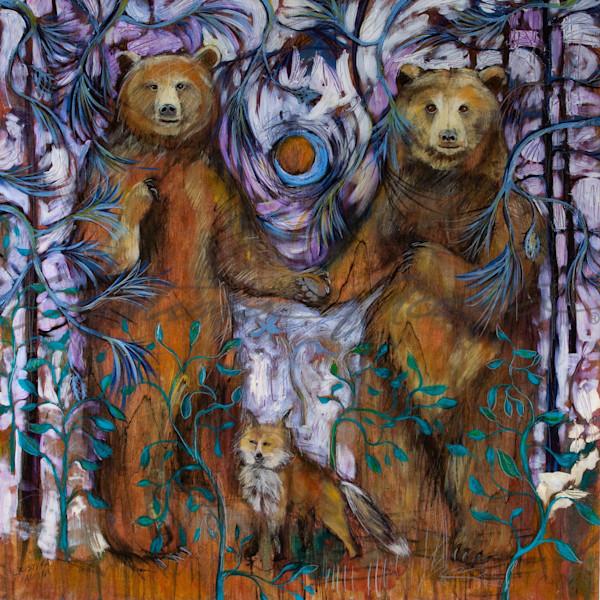 Bears In Love - In the Moonlight