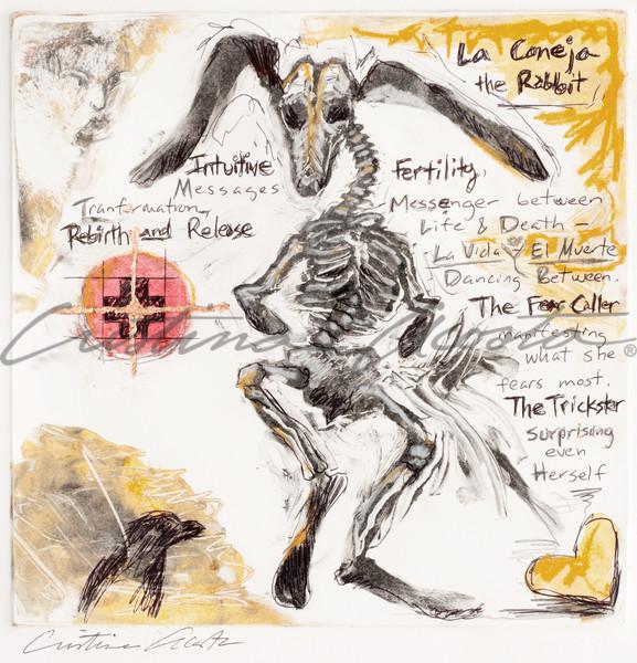 The Rabbit/El Conejo the Trickster