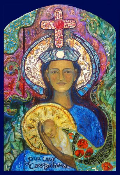 Black Madonna, Our Lady of Czestochowa icon