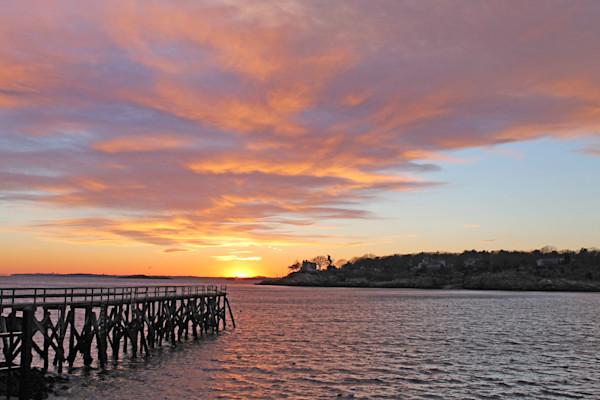 Sunset over Magnolia Harbor