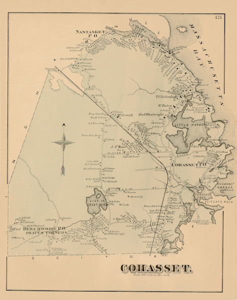 Cohasset Town 1876