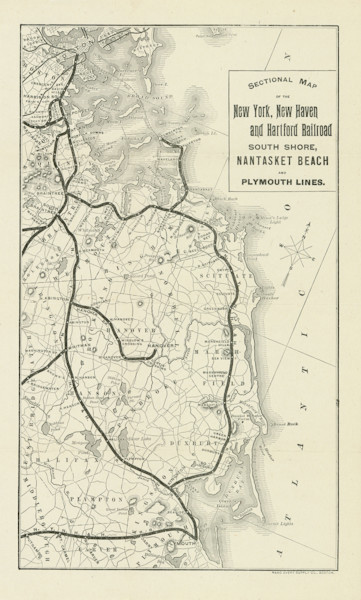 South Shore Line-New York, New Haven + Hartford Railroad