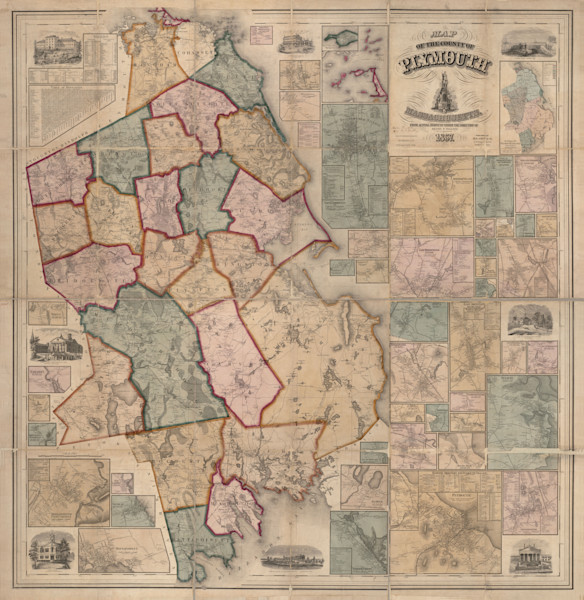 Plymouth County 1857