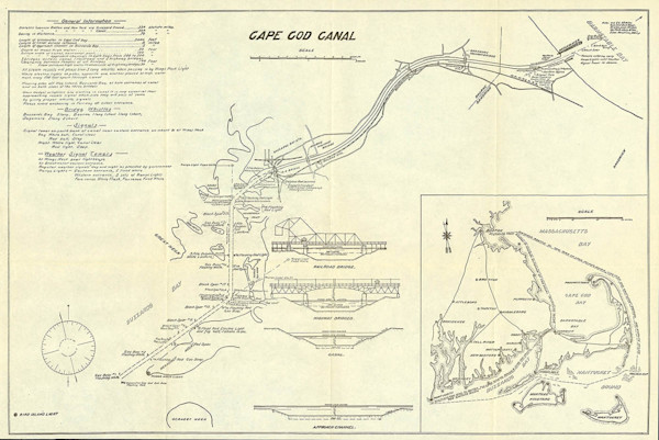 Cape Cod Canal 1915