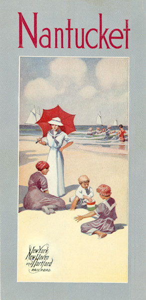 Nantucket New York, New Haven + Hartford Railroad Poster