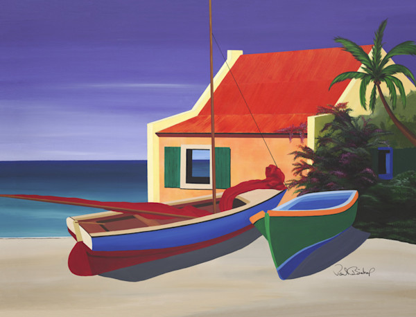 Paul Bishop Art - Beach House