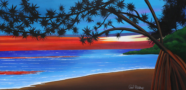 Paul Bishop Art - Pandanas Cove