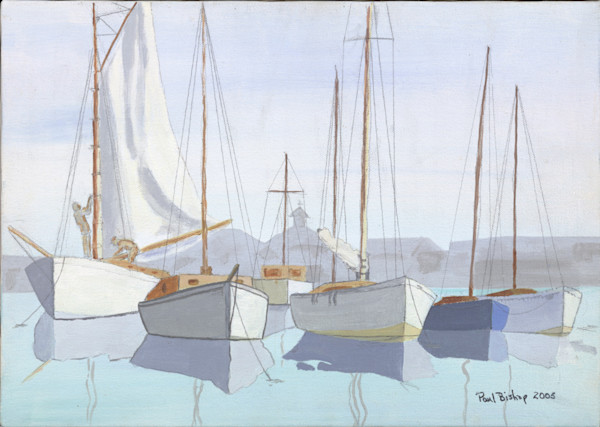 Paul Bishop Art - Home Port