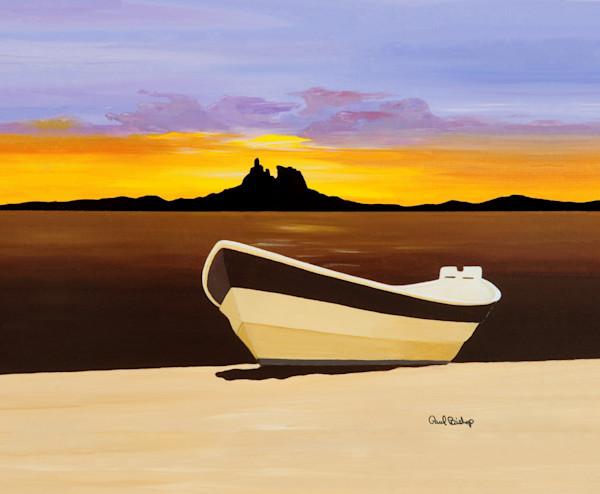 Paul Bishop Art - Sunset Dory