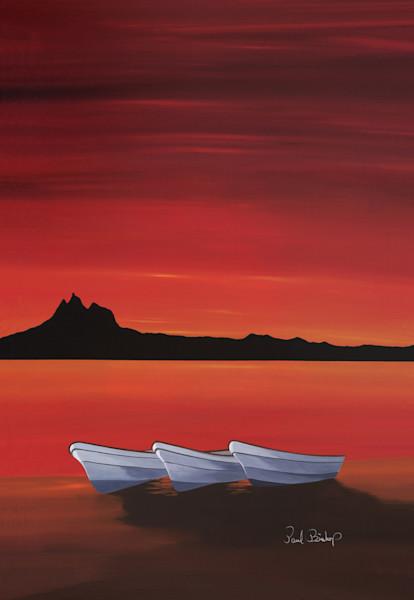 Paul Bishop Art - Tres Pangamigos