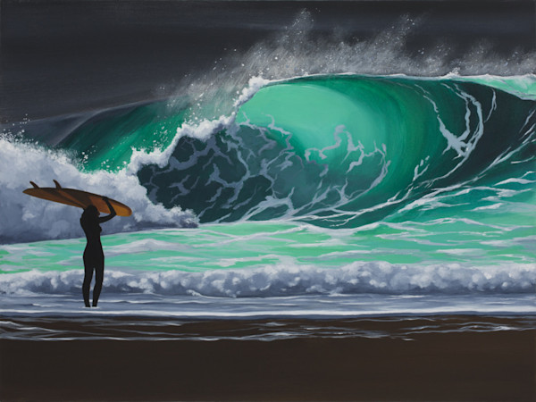 Paul Bishop Art - Surfer Girl