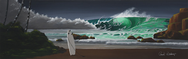 Paul Bishop Art - Surfs Up