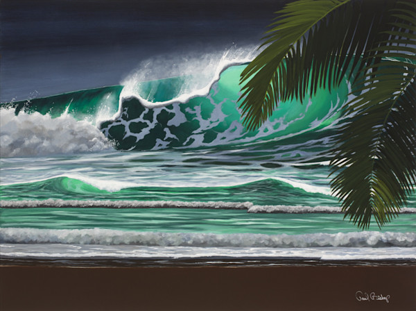 Paul Bishop Art - Tsunami