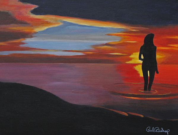 Paul Bishop Art - Sunset Solitude