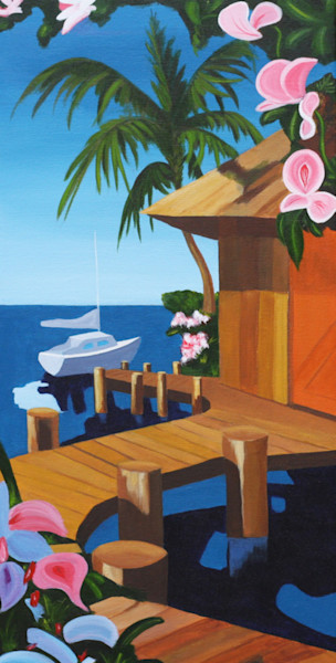 Paul Bishop Art - The Dock