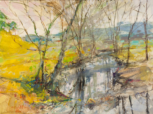 Franklin Stream | Bill Suttles Fine Art