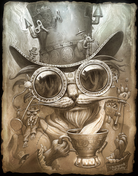 Steampunk Catdaddy