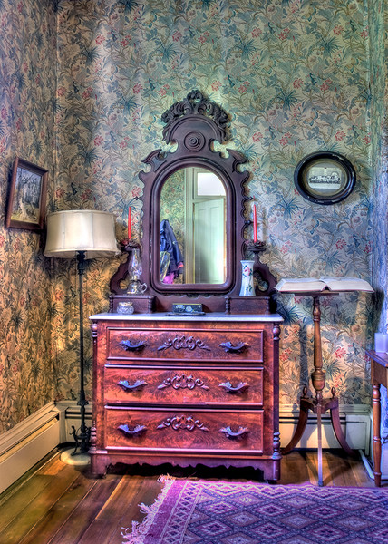 kendall reeves, photography, gallery 406, architecture, home, house, bedroom, room, dresser, purple, A Home of Her Own