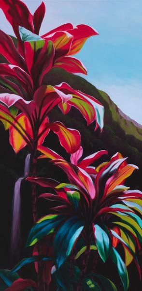 Nature Art | Ti Leaves by Philip Sabado