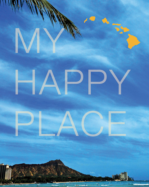 Lifestyle Prints | My Happy Place Hawaii