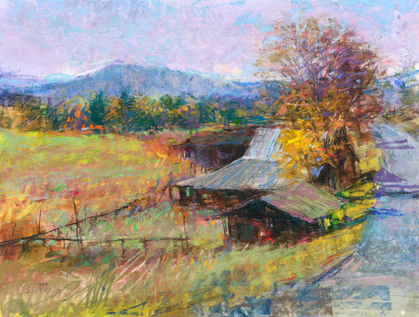 Toward Murphy | Bill Suttles Fine Art | Pastels and Prints