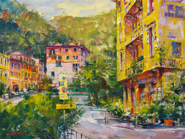 Entrance to Portofino | Bill Suttles Fine Art