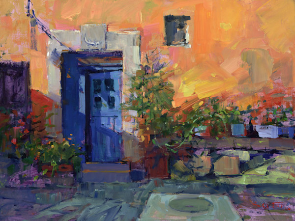 The Blue Door | Bill Suttles Fine Art