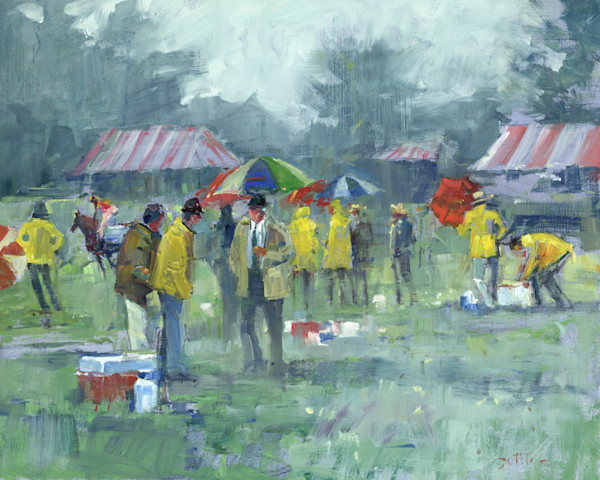 Rainy Day, Steeple Chase | Bill Suttles Fine Art