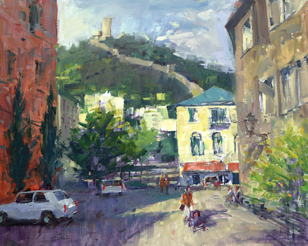 Walled Town | Bill Suttles Fine Art