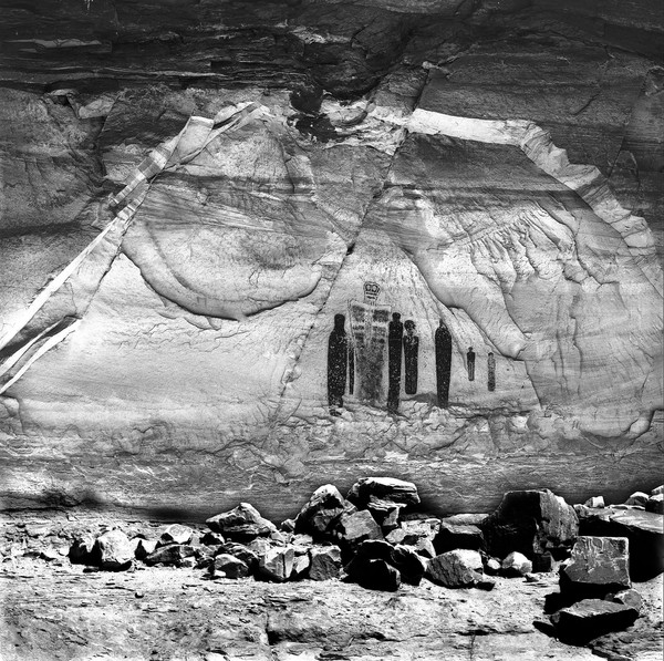 "The ""Holy Ghosts"" HorseShoe Canyon Utah"