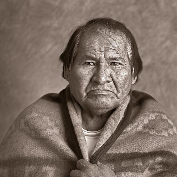 Navajo Portrait Albert Badone Medicine Man